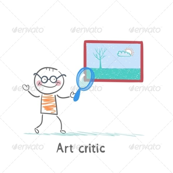 Art Critic Looks at the Picture