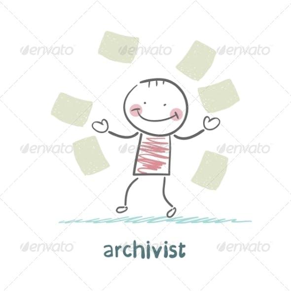 Archivist of Paper Flying Around