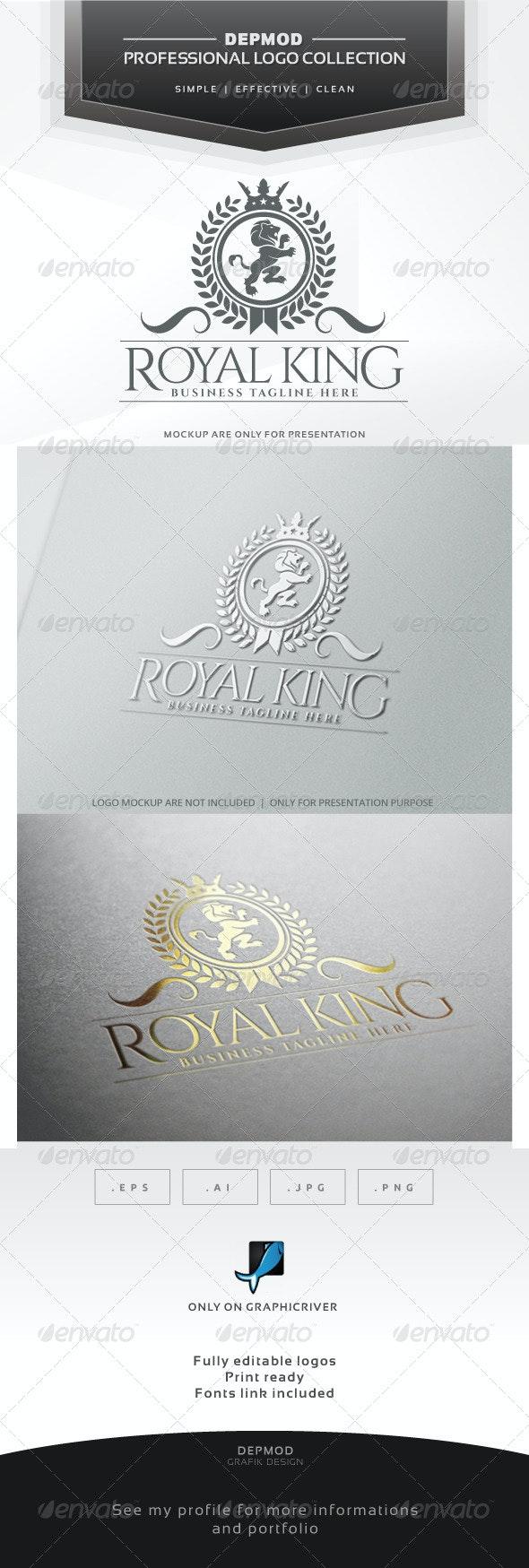Royal King Logo - Crests Logo Templates