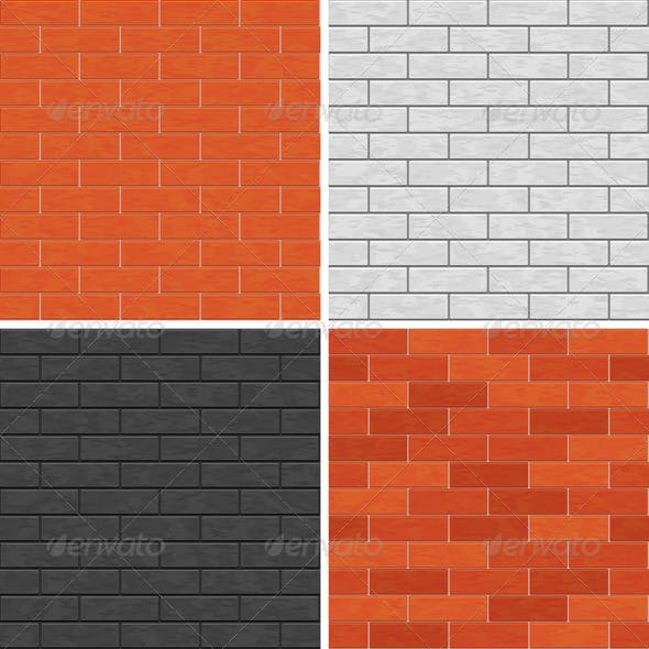 Seamless Brick Wall Patterns