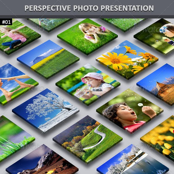 Perspective Photo Presentation