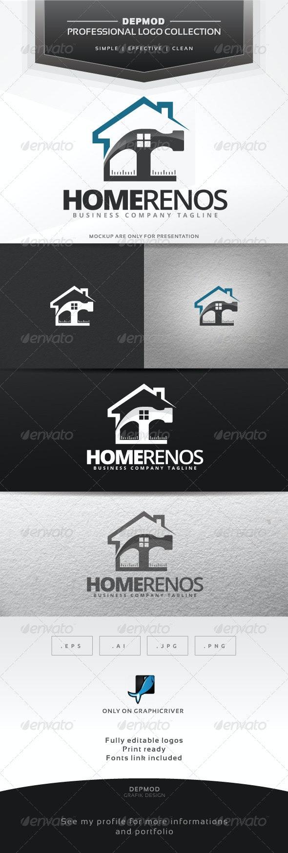 Home Renos Logo - Symbols Logo Templates