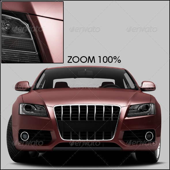 Red Car 2 - 3D Renders Graphics