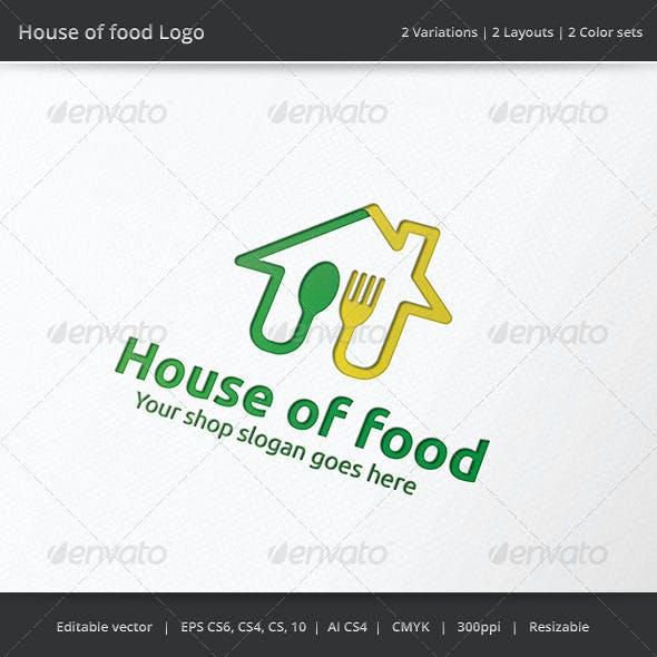 House of Food Logo