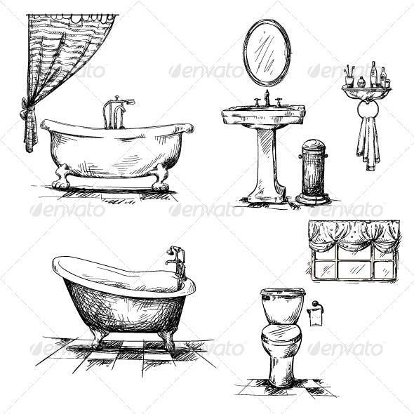 Bathroom Interior Elements