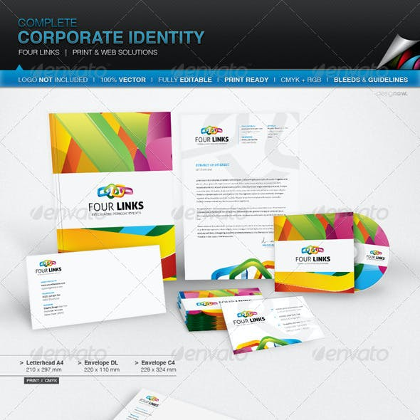 Corporate Identity - Four Links