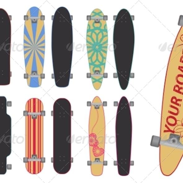 Skateboards and Longboards