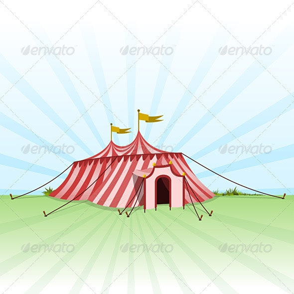 Circus Entertainment Tent - Services Commercial / Shopping
