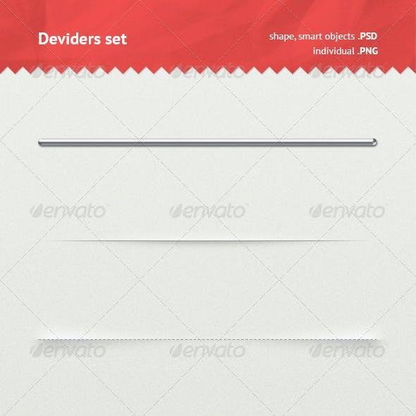 Dividers Set