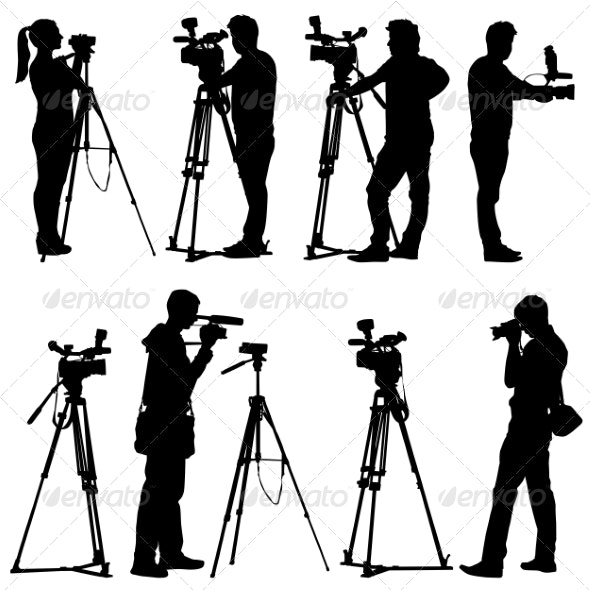 Camera Silhouettes By Aarrows Graphicriver Find & download free graphic resources for camera silhouette. https graphicriver net item camera silhouettes 6880060