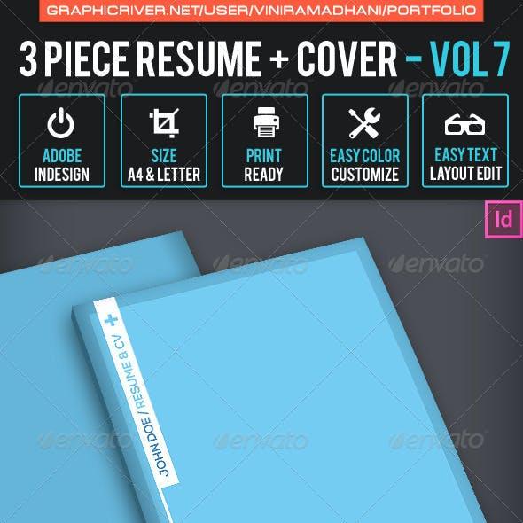 Simple Resume CV Volume 7