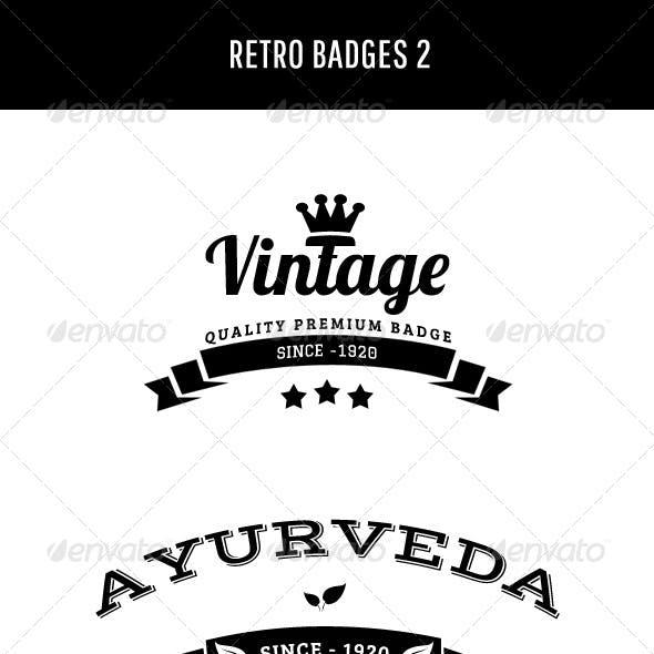 Retro Badges 2