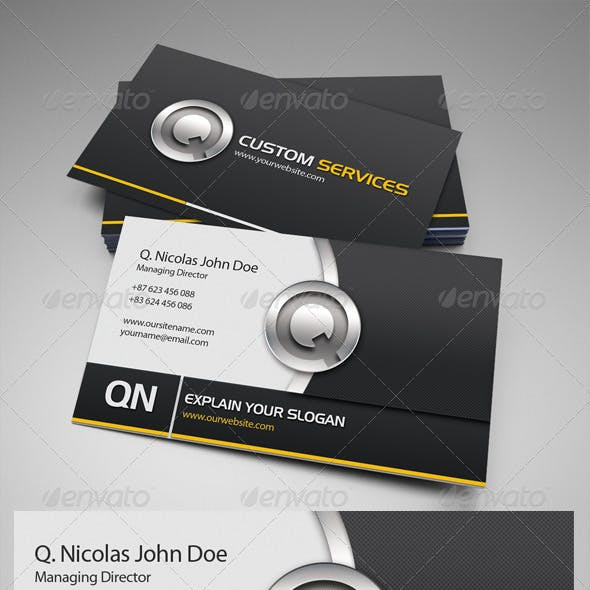 QN Services Business Card