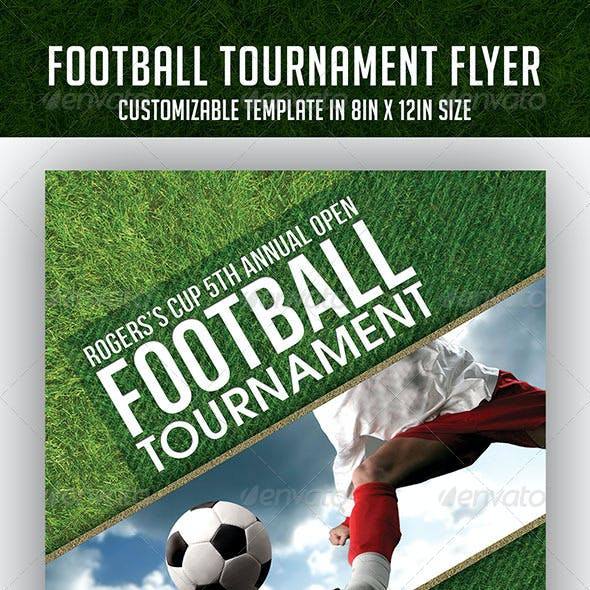 Football Tournament Event Flyer