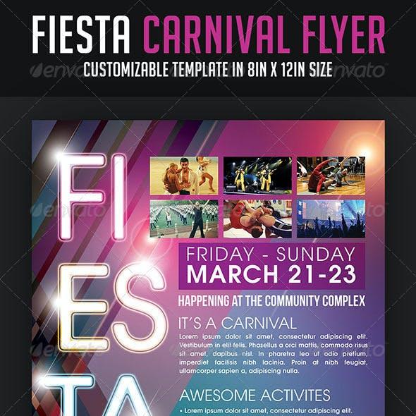 Fiesta Carnival Flyer