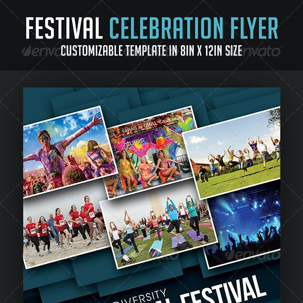 Festival Celebration Flyer