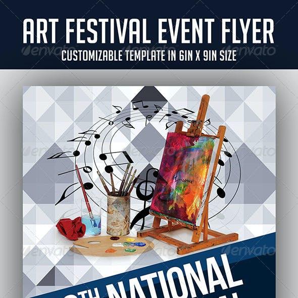 Arts Festival Event Flyer