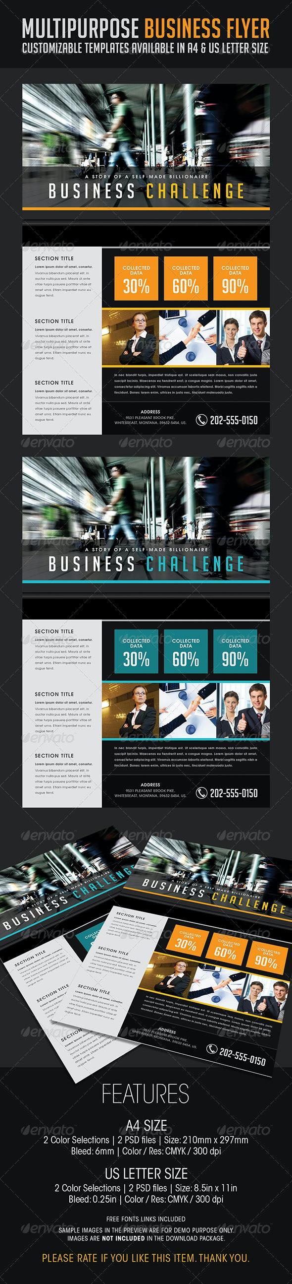 Multipurpose Business Flyer 07 - Corporate Flyers