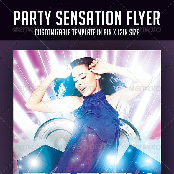 Party Sensation Flyer