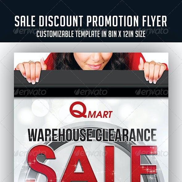 Sale Discount Promotion Flyer