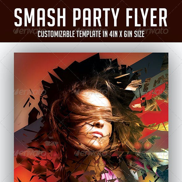 Smash Party Flyer