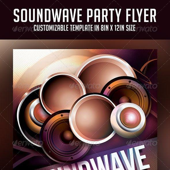 Soundwave Party Flyer