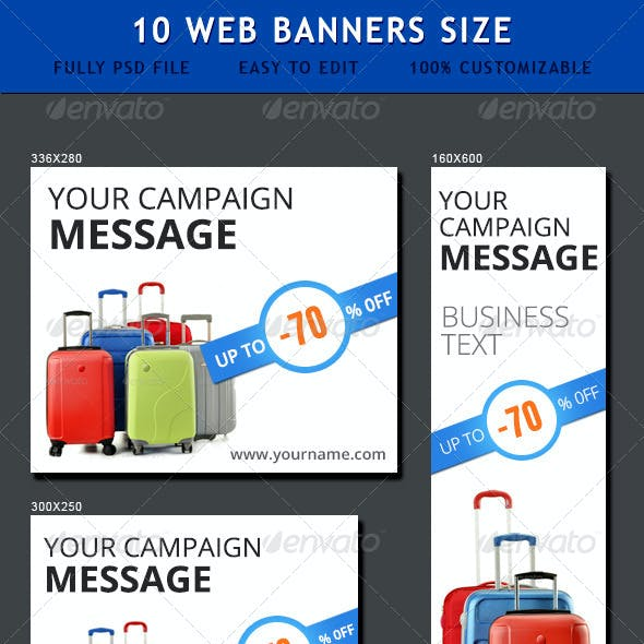 Sale Ad Banners