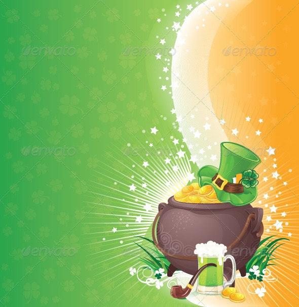 Saint Patrick's Day Background - Seasons/Holidays Conceptual