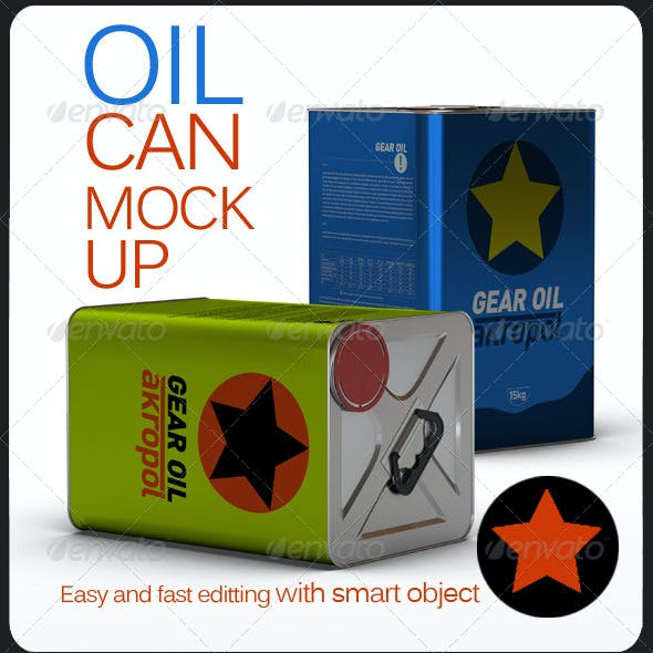 Oil Can Mock Up