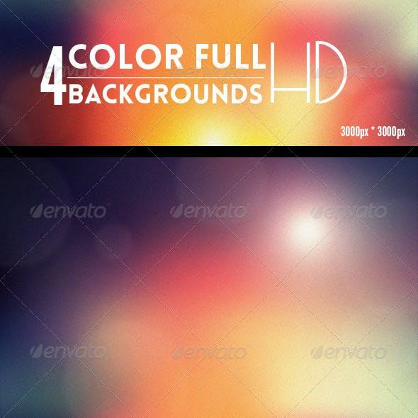 4 Amazing ColorFull Backgrounds