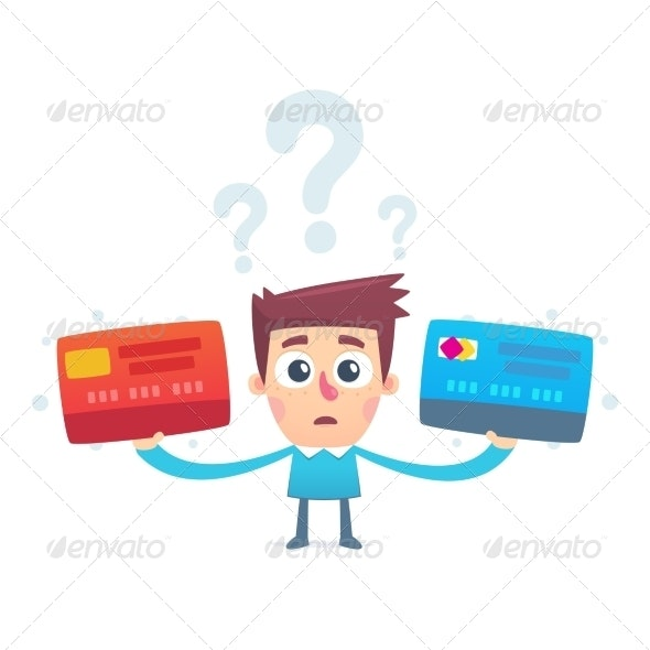 The problem of choosing a credit card - People Characters