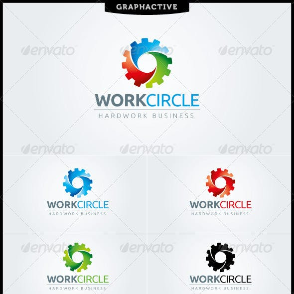 WorkCircle Logo Template