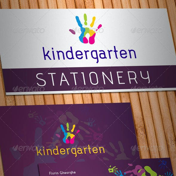 Kindergarten Stationery