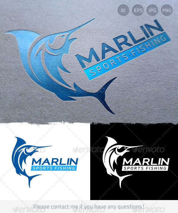 Sports Fishing - Nature Logo Templates
