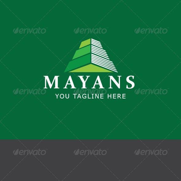 Mayan Ruin Logo Template