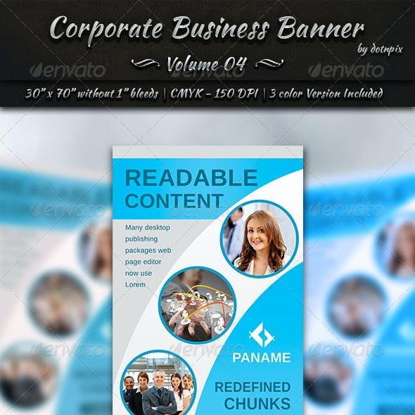 Corporate Business Banner | Volume 4