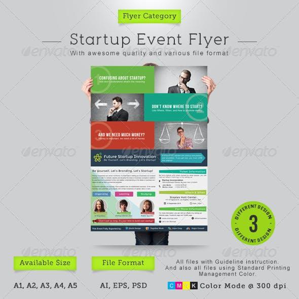 Startup Event Flyer