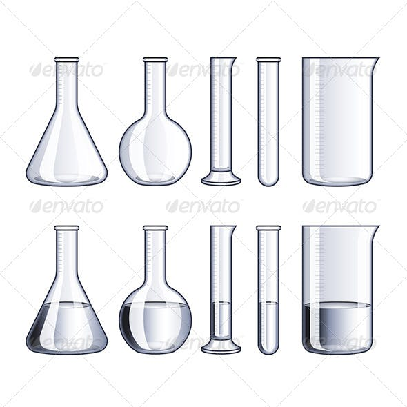 Glass Flasks and Test-Tubes