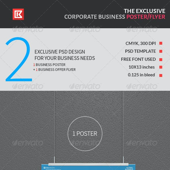 Exclusive Corporate Business Poster and Flyer