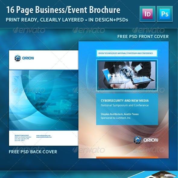 Event Brochure / Annual Report