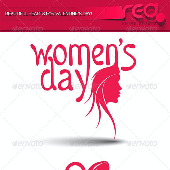 Woman's Day Icon