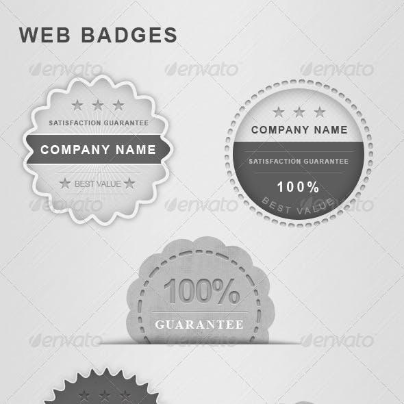 Guarantee web badge
