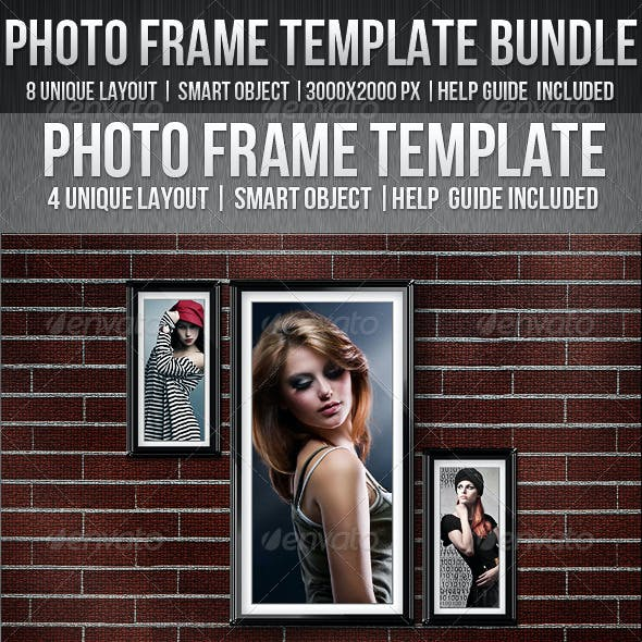 Photo Frame Template Bundle