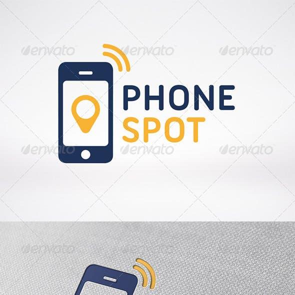 Phone Locator Logo Template