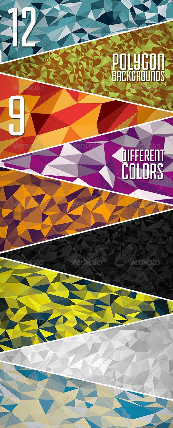 The Abstract Polygon Backgrounds Vol.3 - Abstract Backgrounds