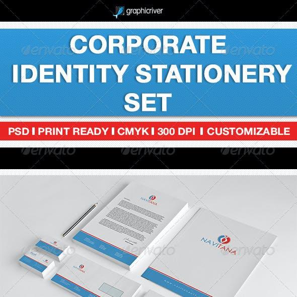 Corporate Identity Stationery Set