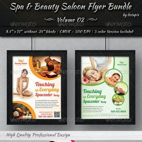 Spa & Beauty Saloon Flyer Bundle | Volume 2