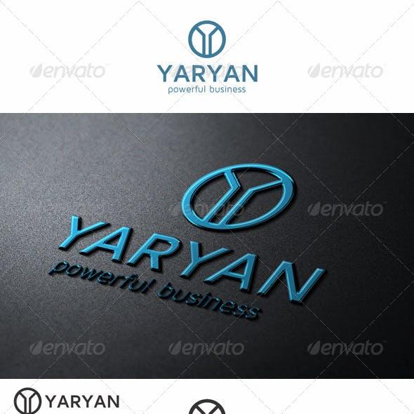 Y Letter Logo Symbol