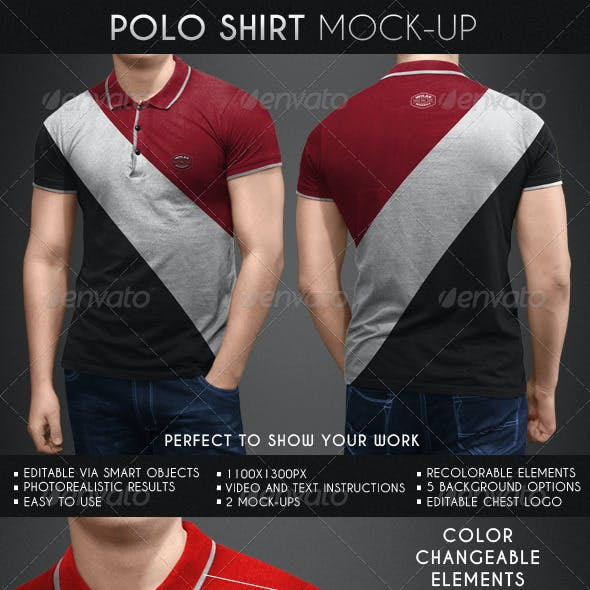 Polo Shirt Mock-Up