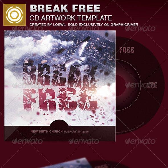 Break Free CD Artwork Template